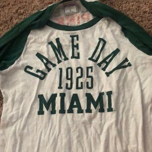 pink miami game day shirt